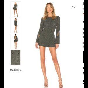 X by NBD marketa mini dress NWT NWT REVOLVE